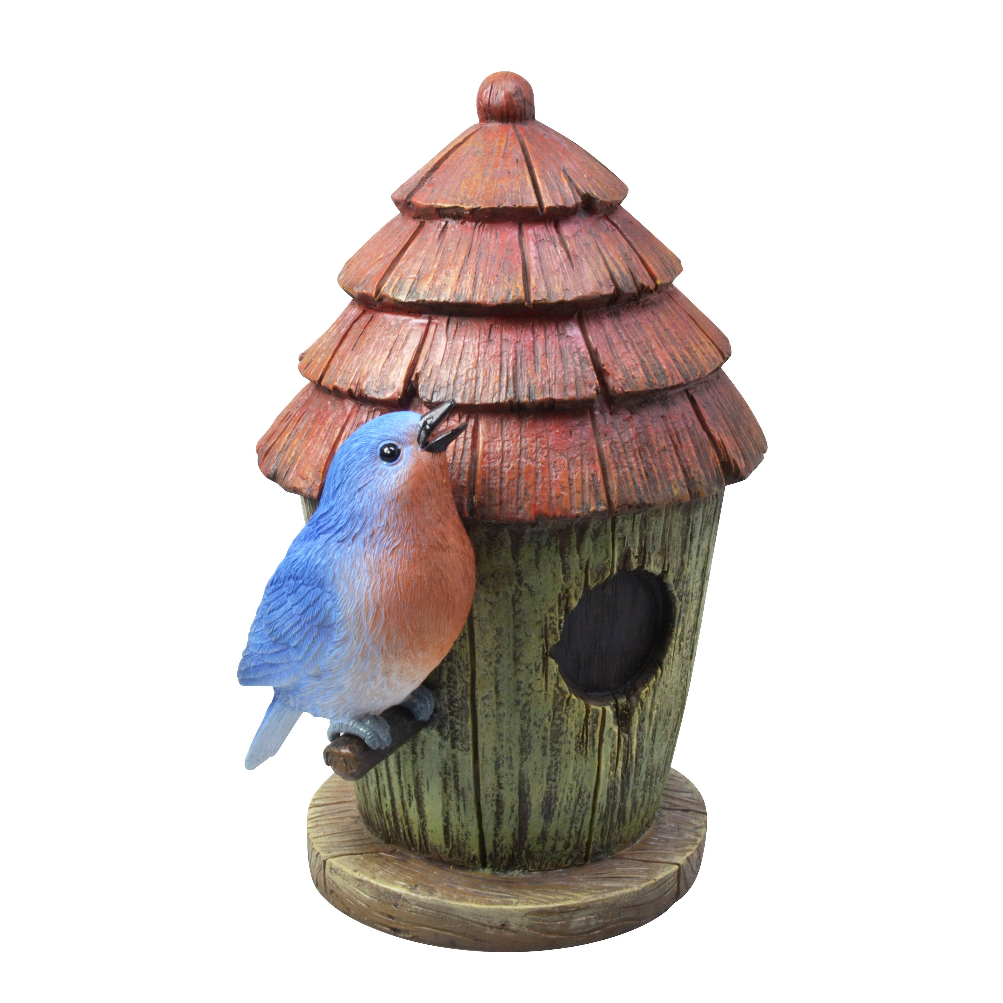 Coleman Cable Moonrays Blue Birdhouse Outdoor Lighting Accent at Sears.com