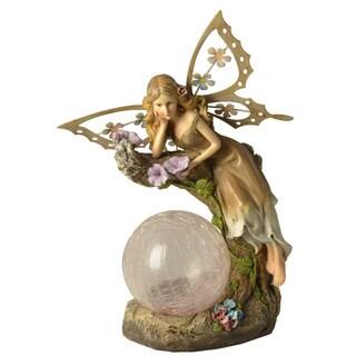 Moonrays Garden Fairy Color Chang Globe Outdoor Lighting Accent