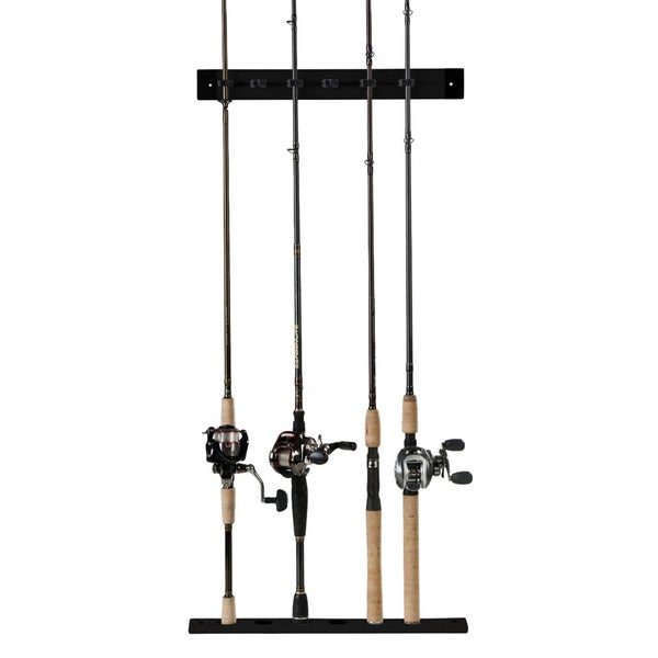 Organized Fishing Plastic Modular Vertical Wall Rack
