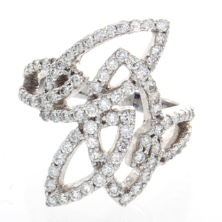 Victoria Kay 14k Gold 1 1/5ct TDW Marquise Shape Vintage Diamond Ring (H-I, SI1-SI2)