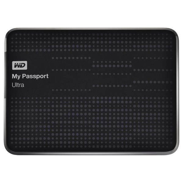 WD My Passport Ultra WDBMWV0020BBK-NESN 2 TB External Hard Drive