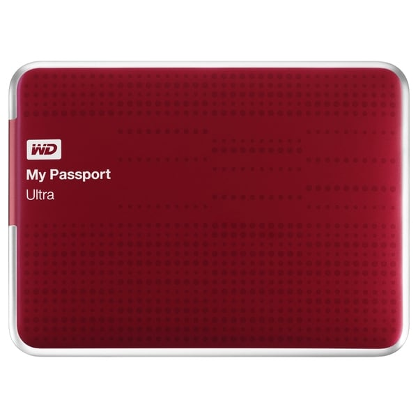 WD My Passport Ultra WDBPGC5000ARD-NESN 500 GB External Hard Drive