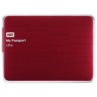 WD My Passport Ultra WDBZFP0010BRD-NESN 1 TB External Hard Drive