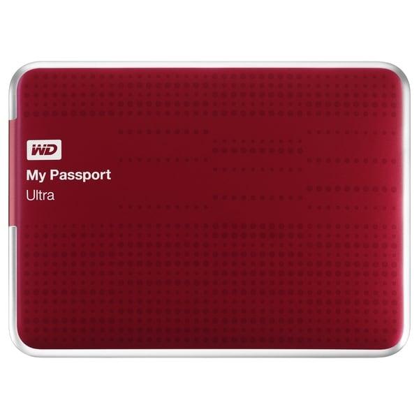 WD My Passport Ultra WDBZFP0010BRD-NESN 1 TB External Hard Drive