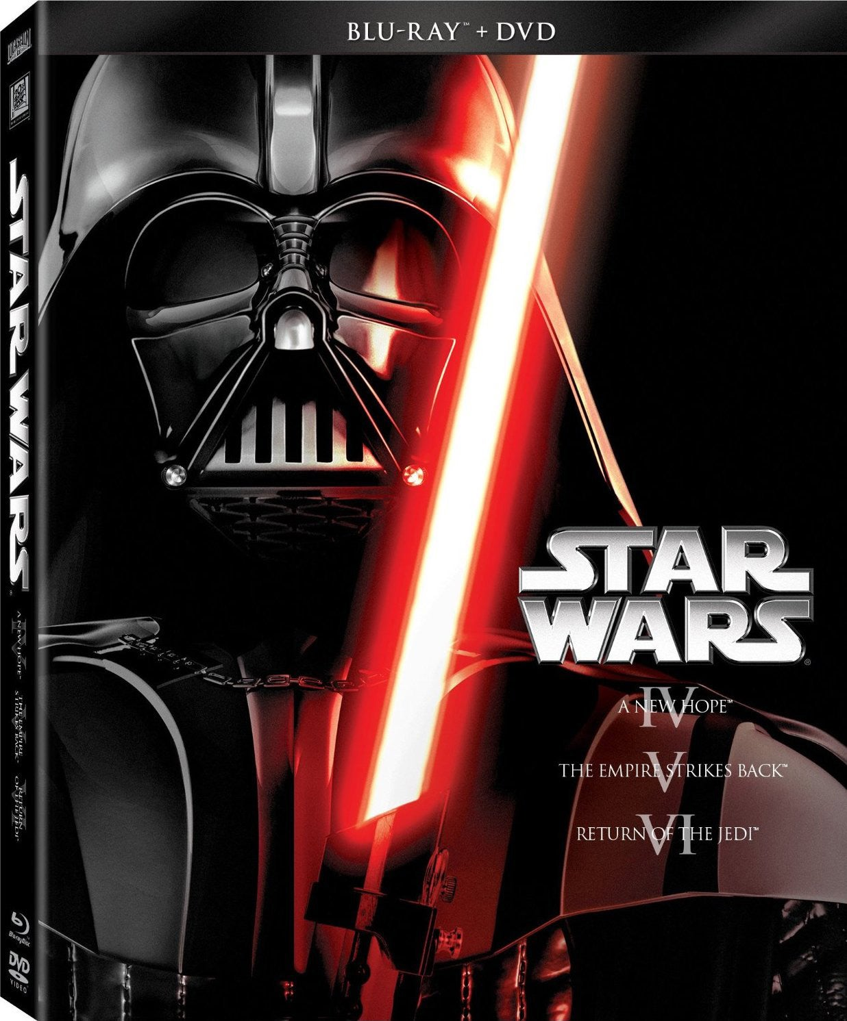 Star Wars Trilogy Episodes IV-VI (Blu-ray/DVD)