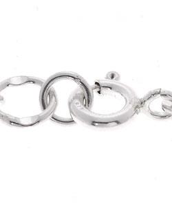 Tressa Sterling Silver Music Notes Bracelet