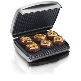 Hamilton Beach 25335 Indoor Grill with Removable Plates