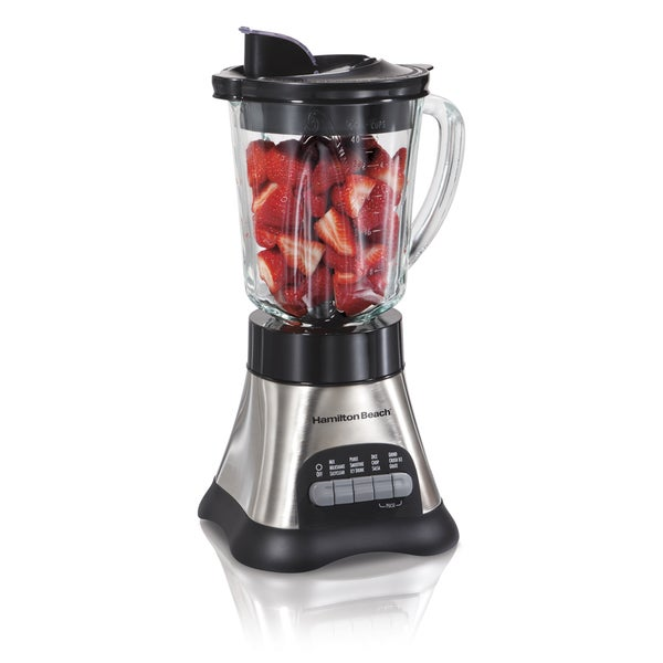 Hamilton Beach 58143 Wave Crusher Glass Jar Blender