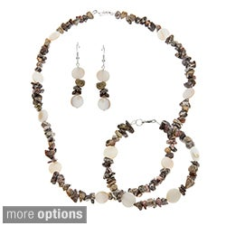 Leopard Print Jewelry Set