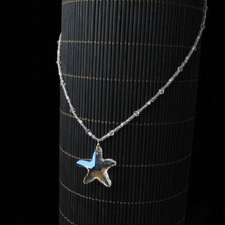 Girl's Starfish Crystal Bead Necklace (China)
