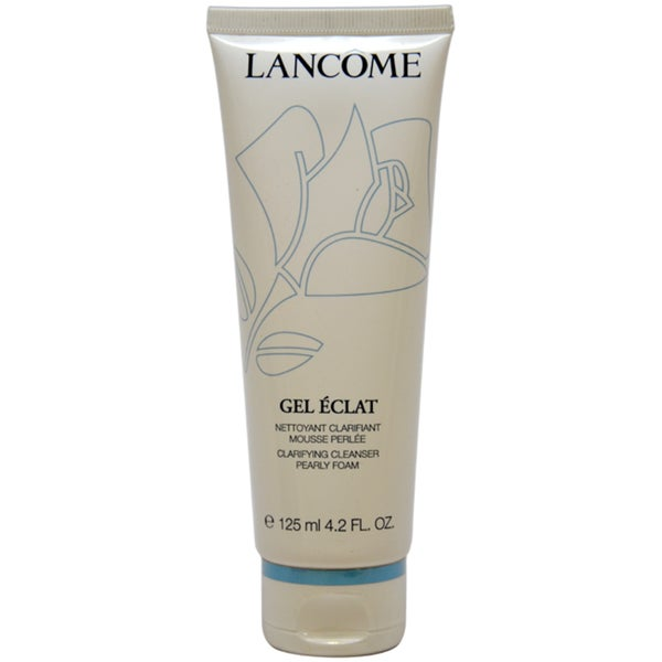 Lancome Gel Eclat Pearly Foam 4.2-ounce Clarifying Cleanser
