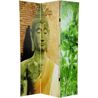 Draped Buddha Double Sided Room Divider