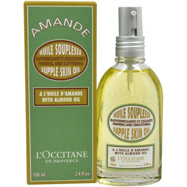 L'Occitane Almond Supple Skin 3.4-ounce Body Oil