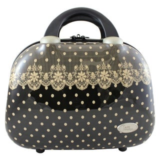 Jacki Design Polka Dot Romance ABS Travel Case