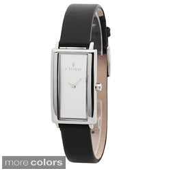 Fjord Women's 'Gyda' Leather Strap Watch