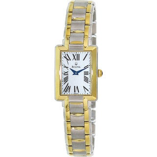 Bulova Women's 'Fairlawn' Two-tone Stainless Steel Watch