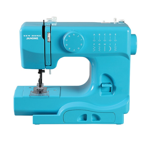 Janome Turbo Teal 1/2-size Portable Sewing Machine