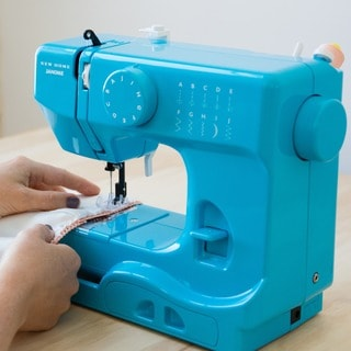 Janome Turbo Teal 1/2 Size Portable Sewing Machine