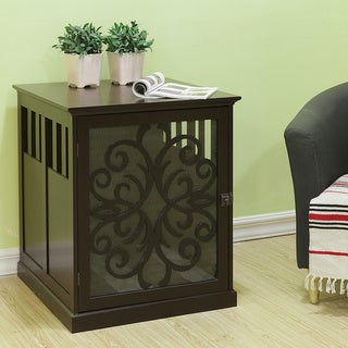 Small Tesy Residence Pet Crate by Elegant Home Fashions
