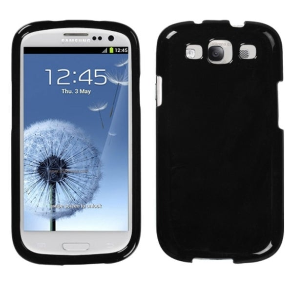 INSTEN Black Phone Protector Phone Case Cover for Samsung Galaxy S III