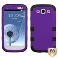 BasAcc Grape/ Black TUFF Hybrid Case for Samsung Galaxy S III
