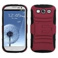 BasAcc Red/ Black Advanced Armor Stand Case for Samsung Galaxy S III