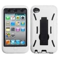 BasAcc Black/ White Symbiosis Stand Case for Apple iPod Touch 4