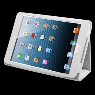 BasAcc White Quilted Premium MyJacket for iPad Mini