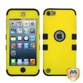 BasAcc Yellow/ Black TUFF Hybrid Case for Apple iPod touch 5