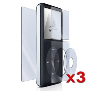 BasAcc 4-piece Screen Protector for Apple iPod Classic (Pack of 3)