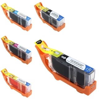 BasAcc 5-piece Ink Cartridge Set for Canon Pixma MP560