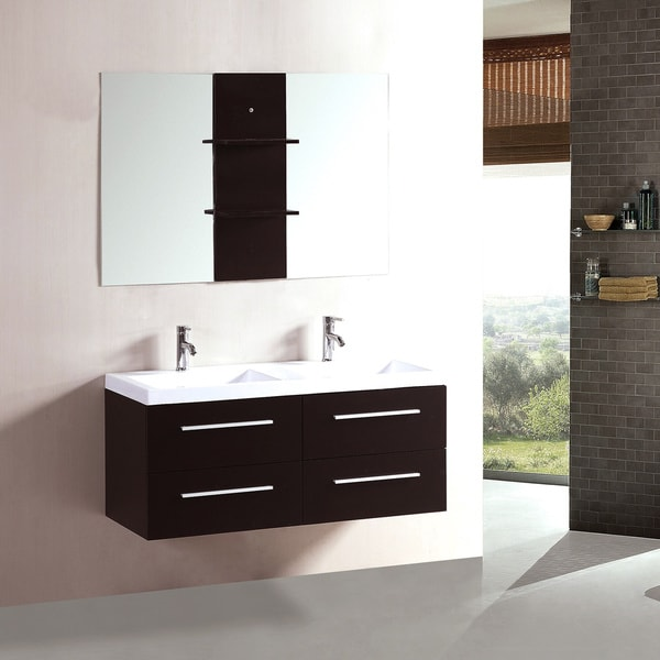 Kokols 48inch Double Sink Bathroom Combo Set Vanity  15578251
