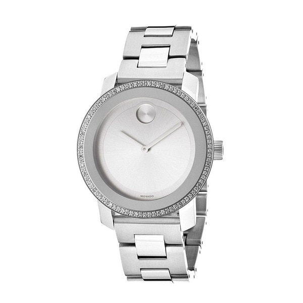 Movado Women's Bold Mid-Size Diamond-accented Watch
