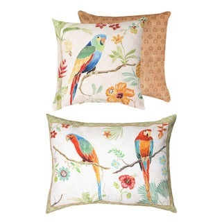 Tropical Paradise Decorative Pillows (Set of 2)