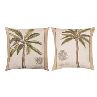 Palm Fresco Indoor/Outdoor Pillows (Set of 2)