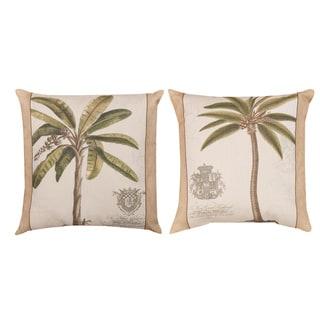 Palm Fresco Indoor/Outdoor Pillows (Set of 2)