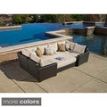 Endura 6PC Sunbrella Deep Seating Modular Patio Set