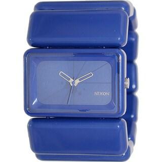 Nixon Women's 'Vega' Blue Plastic Quartz Watch