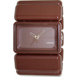Nixon Women's 'Vega' Brown Plastic Quartz Watch