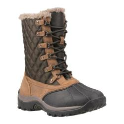 Women's Propet Blizzard Mid Lace Dark Brown