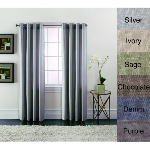 Brielle Linen Blend Curtain Panels