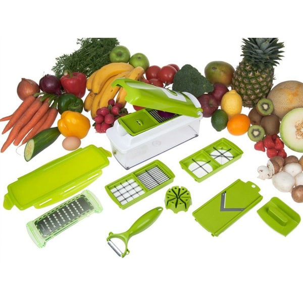 Genius Nicer Dicer Plus 12-piece Multi Chopper