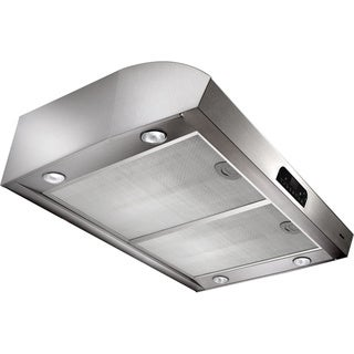 Broan 36-inch Stainless Steel Beveled Under-cabinet Range Hood