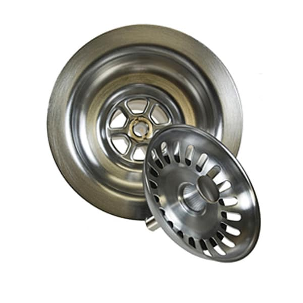 Brushed Stainless Steel Kitchen Strainer