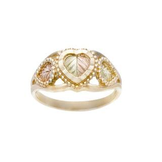 Black Hills Gold Heart Ring