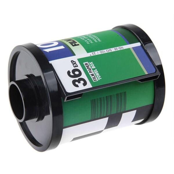 Decorative Film Strip Toilet Paper Roll Dispenser