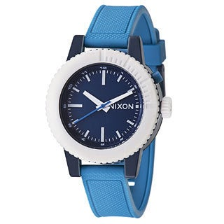 Nixon Men's Gogo A287875-00 Blue Polyurethane Quartz Watch
