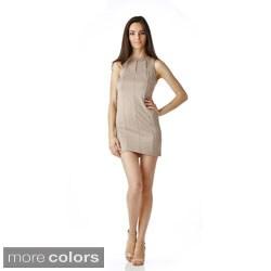 Stanzino Women's Sleeveless Mini Shift Dress