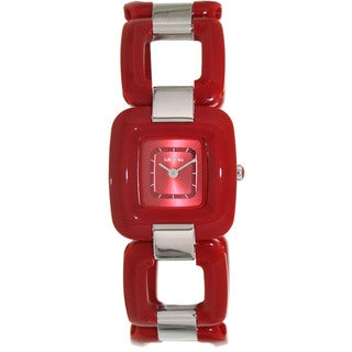 Nixon Women's Sisi A248200-00 Red Plastic Quartz Watch with Red Dial