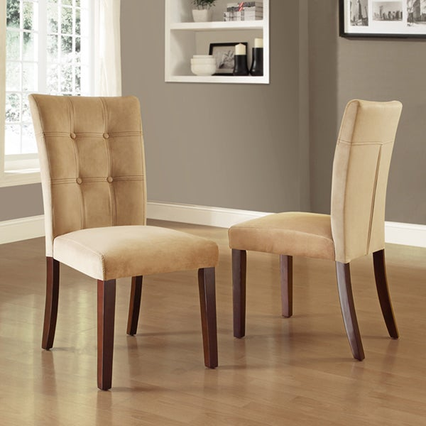 TRIBECCA HOME Colyton Tufted Side Chairs (Set of 2)